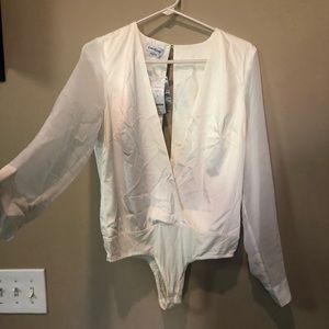 BeBe Open Style Blouse bodysuit S